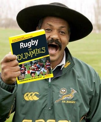 The armchair rugby player's nightmare!