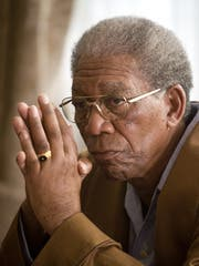 Morgan Freeman in Invictus; nominated for Best Actor.