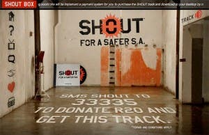 SHOUT for a Safer South Africa