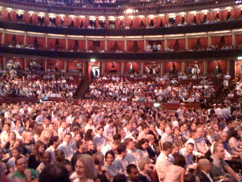 Thousands of Saffas at the Royal Albert Hall in London last night