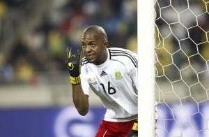 Golden goalkeeper - Itumeleng Khune