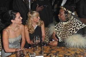 His Majesty King Goodwill Zwelithini, Sophie Anderton, Liz McClarnon