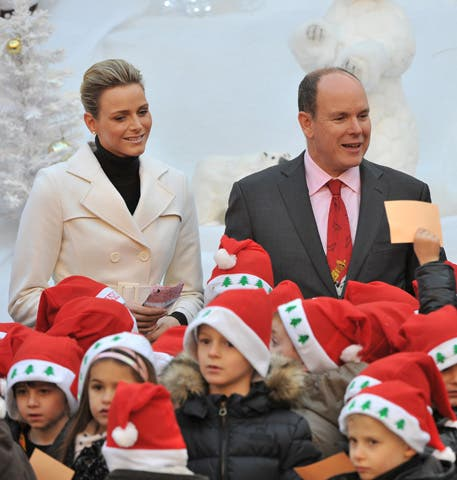 Christmas for the Monegasques children at the Monaco Palace