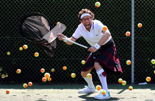The PoemCatcher at Wimbledon