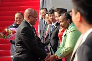 President Zuma in China