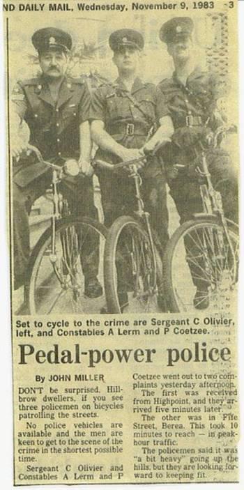 Police in the '80s
