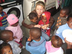 Amanda Tsinonis in South Africa
