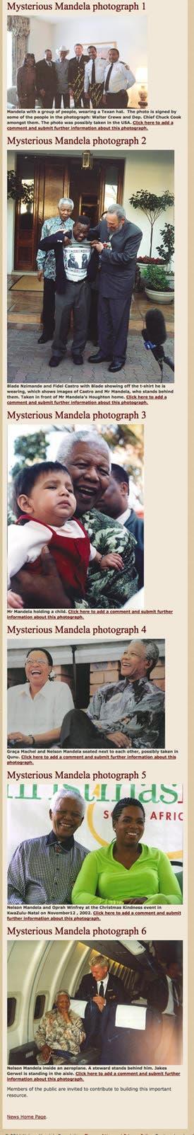Mystery Nelson Mandela Photos