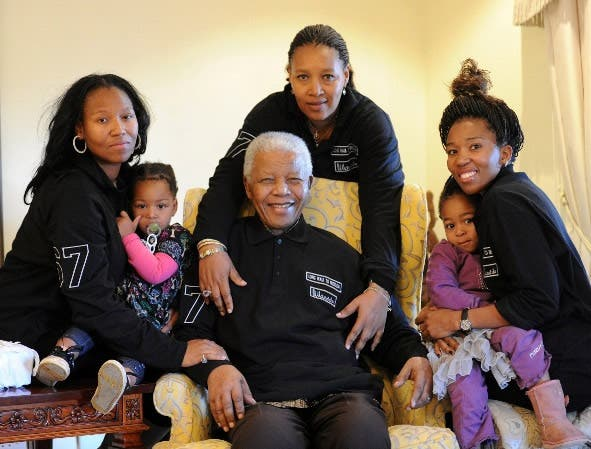 Nelson Mandela's Birthday Photo