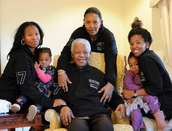 Nelson Mandela's Birthday Photo
