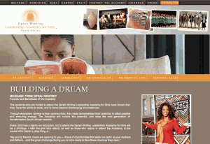 Oprah Winfrey Leadership Academy for Girls website