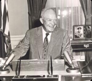 Former American President Dwight D. Eisenhower founded the PTPI