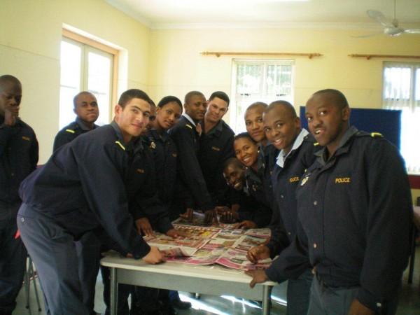 SA Police involved in making waterproof sleeping bags