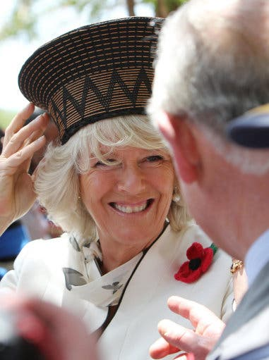 Duchess of Cornwall, Camilla, in Soweto