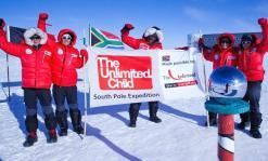 Antarctic team