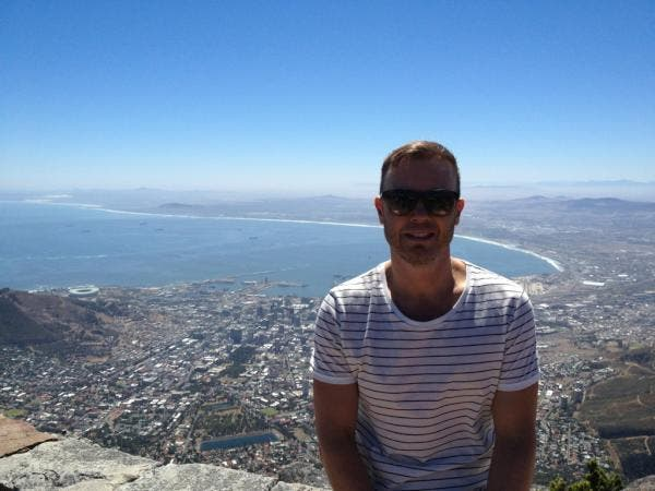 Gary Barlow, Table Mountain, Cape Town