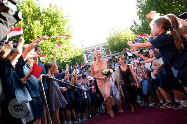 Princess Charlene in Australia