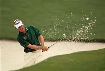 Louis Oosthuizen made history at Augusta National