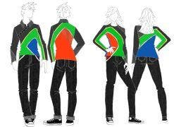 Criteria for the creation of the designs stipulated that the outfits must be proudly South African and comfortable.