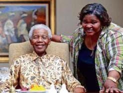 Xoliswa Ndoyiya & Nelson Mandela