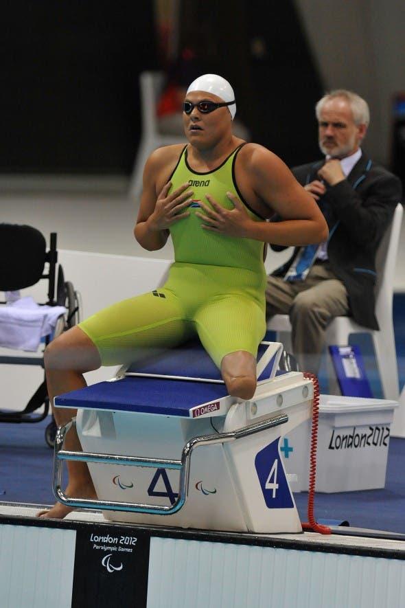 Natalie du Toit Paralympics 2012