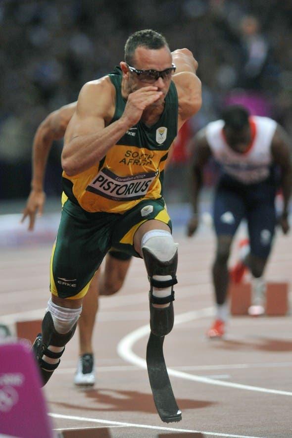Oscar Pistorius at the Olympics