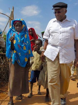 Desmond Tutu in Darfur
