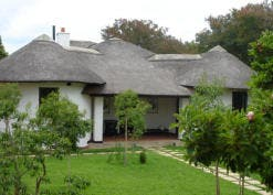 The restored Kallenbach kraal house, now a museum and guesthouse called Satyagraha House, in Orchards, Joburg. (Images: Lucille Davie)