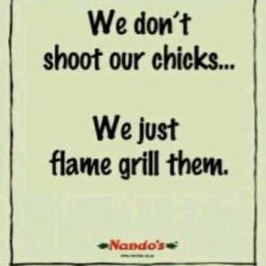 Fake Nando's Ad