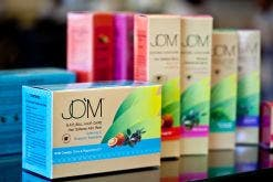 JOM Cosmetics became the first company to receive an EU Ecolabel of environmental excellence. Worldwide it is the only cosmetic brand that has achieved this. (Images: JOM Cosmetics)