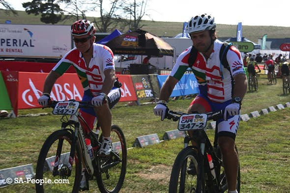 Burry Standers Dad (Charles Stander) taking off at the Epic