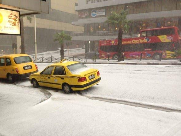 Cape Town hail