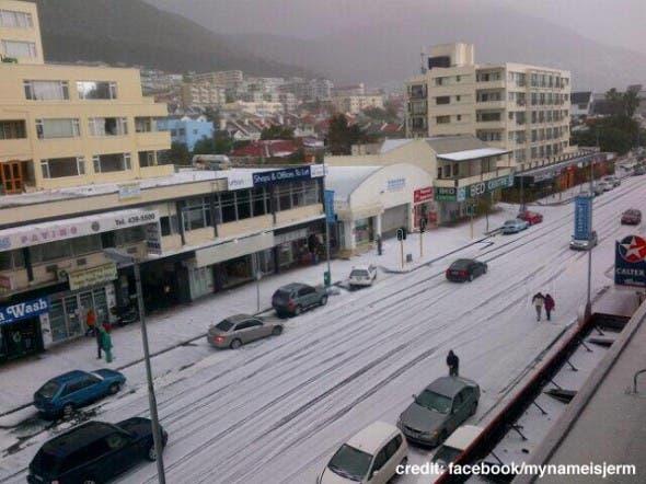 Cape Town Hail Storm