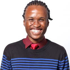 """At the age of 22, Wandile Mabanga is writing his MSc dissertation in quantum gravity. """"I'm constantly asking myself different questions, challenging my mind to see if I can get answers,"""" he says.  (Image: Allan Gray Orbis Foundation)"""