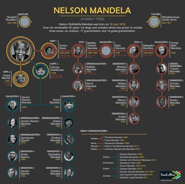 Nelson Mandela family | Graphics24