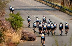 Riders face the ascent into the Waterberg in 2012.(Images: Change a Life)