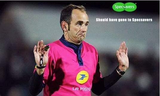 International rugby referee Romain Poite