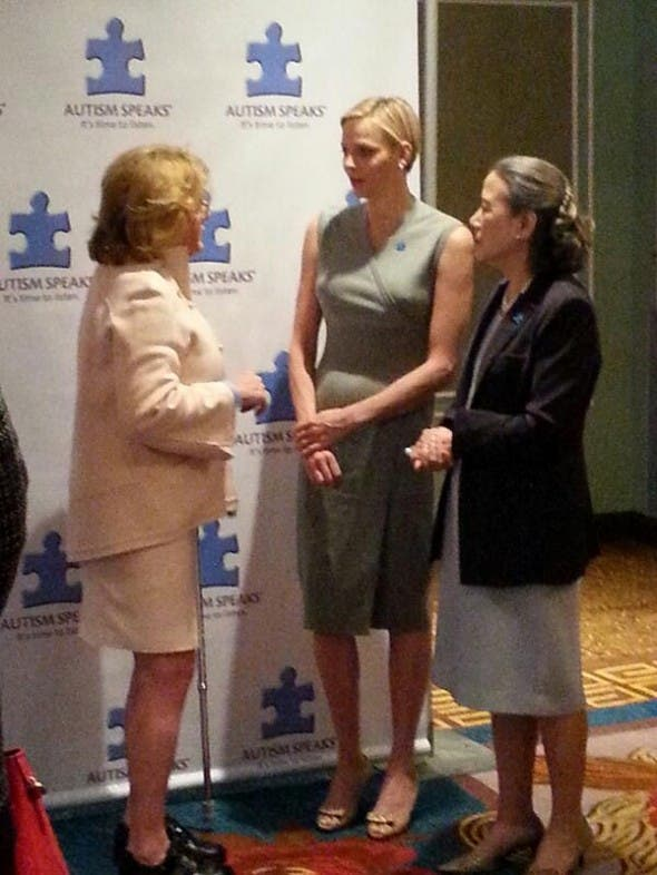 Charlene Wittstock in New York at Autism Speaks event