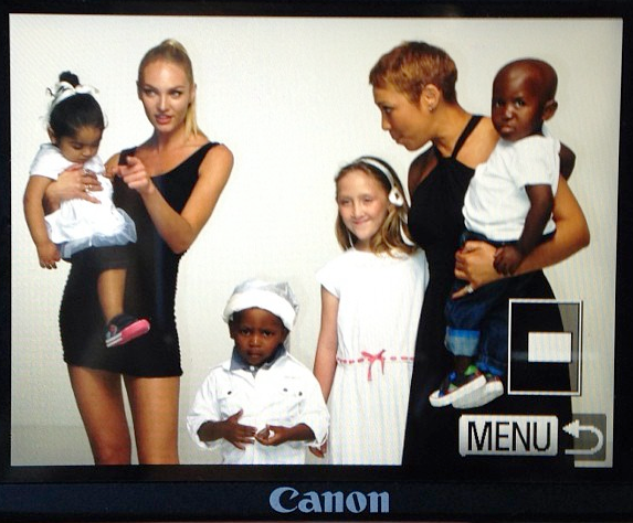 Candice supports Operation Smile
