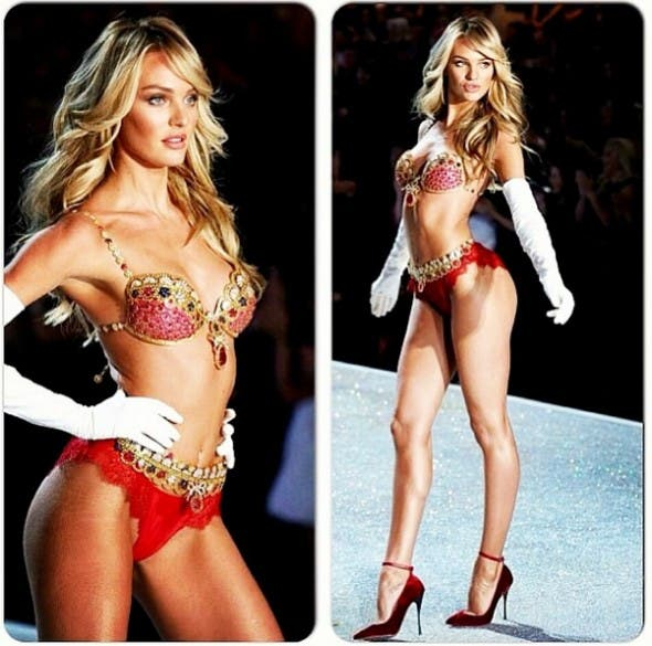 South African supermodel Candice Swanepoel