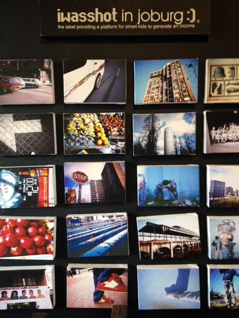 A sampling of pics from the I Was Shot in Joburg project, Arts on Main, Maboneng