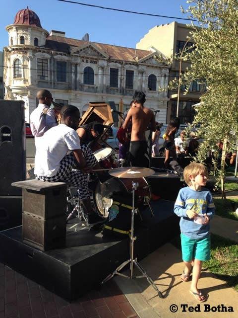 Sunday concert, Maboneng