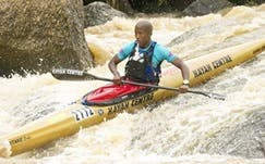 Former podium finisher Loveday Zondi will spearhead the Soweto Canoe and Recreation Club's challenge at the 2014 Dusi Canoe Marathon (Photo: Anthony Grote, Gameplan Media)