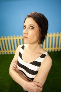 South African comedian Anne Hirsch