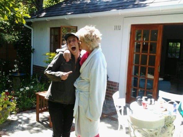 Anne Hirsch 'stalks' PJ Powers