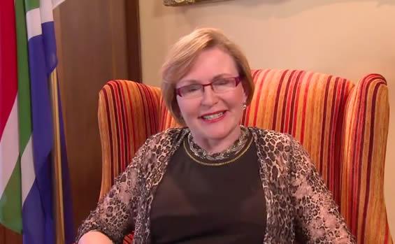 DA Leader Helen Zille
