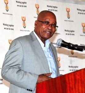 President Zuma of South Africa