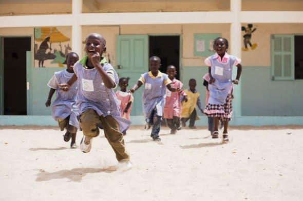 Children in Senegal, Africa