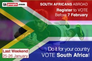 Register to Vote - South Africans Abroad
