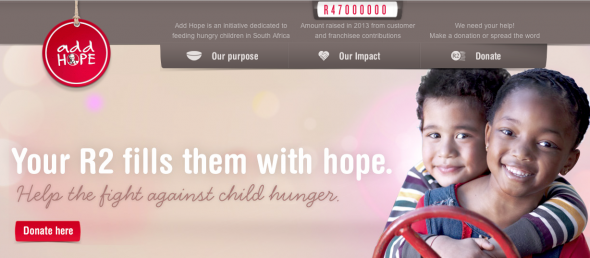Add Hope to benefit from #RakNomination
